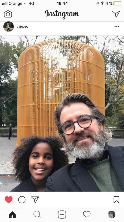 Olafur by Ai Weiwei
